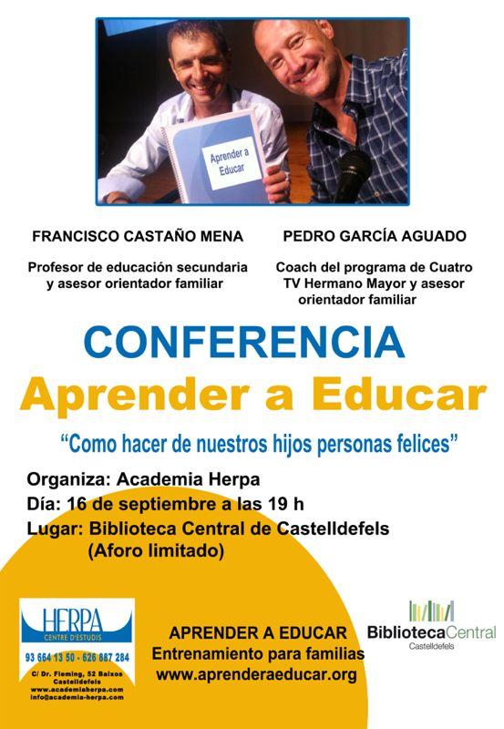 Próxima conferencia en Castelldefels
