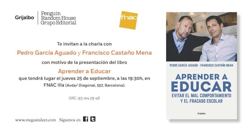 INVITACIÓN APRENDER A EDUCAR