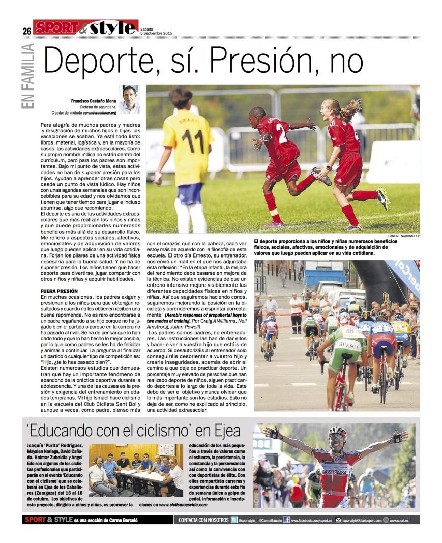 Sport 5/09/2015